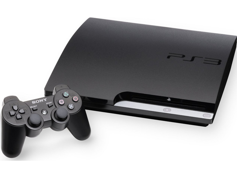 Foto - Playstation 3 Slim